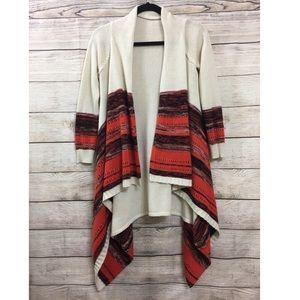 Derek Heart ethnic Boho Knit Open sweater Cardigan